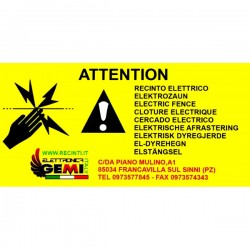 BOLT ON INSULATORS with nut for Electric Fence Gemi Elettronica
