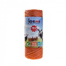 Steel wire 600 meters 0,85 mm x 7 Conducting Wires by Gemi Elettronica