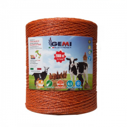 Steel wire 900 meters 0,70 mm x 7 Conducting Wires  by Gemi Elettronica
