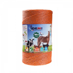 Steel wire 1200 meters 0,60 mm x 7 Conducting Wires by Gemi Elettronica