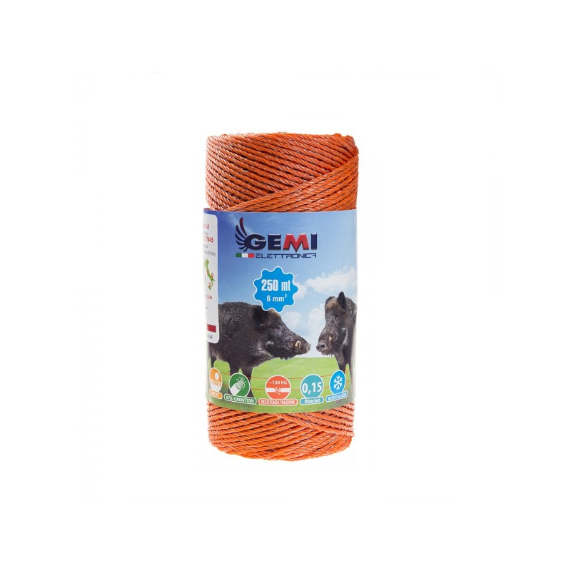 100 mt of 4cm orange string