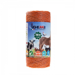 Insulated cable for earth posts