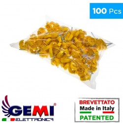 Iron Poles Insulators for electric fencing by Gemi Elettronica