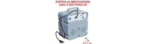 For combined 220V/9V supply systems